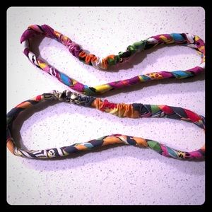 Braided Vera Bradley Headbands (2) Multi-Color